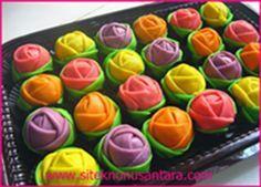 Resep Dadar Gulung Mawar Kacang Hijau | SiteknoNusantara.com