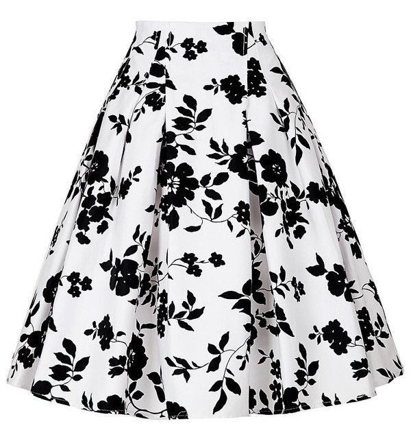 Belle Poque Women Summer Skirts faldas High Waist Rockabilly Skirt Casual Pleated Vintage Floral Print Jupe Femme Skirt Womens skirts womens, skirts womens clothing for sale	, women's skirts and dresses, women's skirts australia, women's skirts below knee. #ad