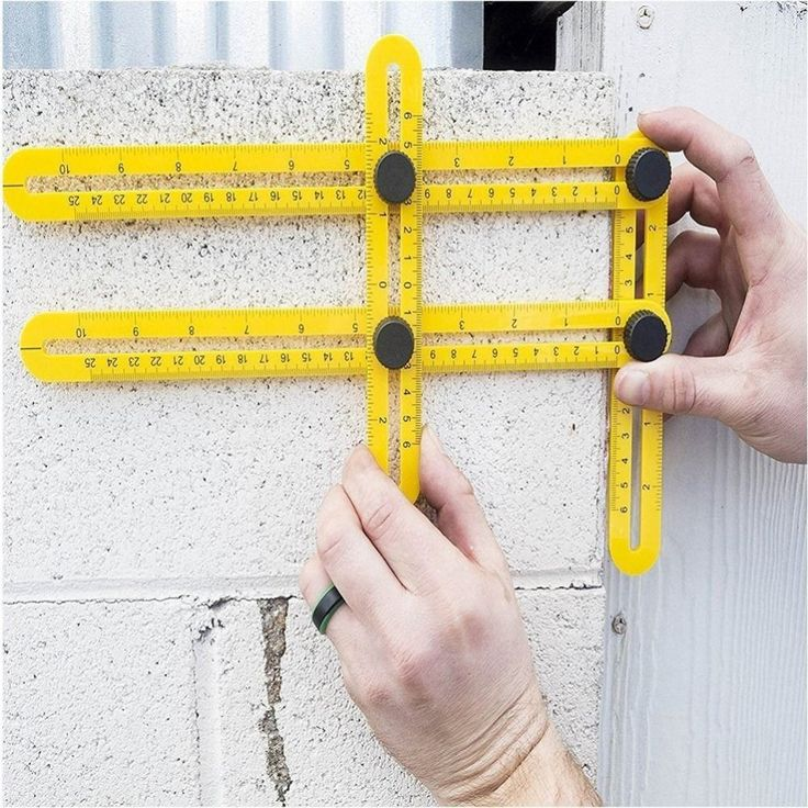 Measuring Instrument Four-fold Floating Long Rulers for All Angles and Forms //Price: $19.44 & FREE Shipping //     #Toys