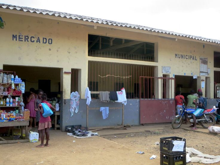 A small Mercado Municipal serves Santo Antonio on Principe Island, São Tomé and Príncipe.