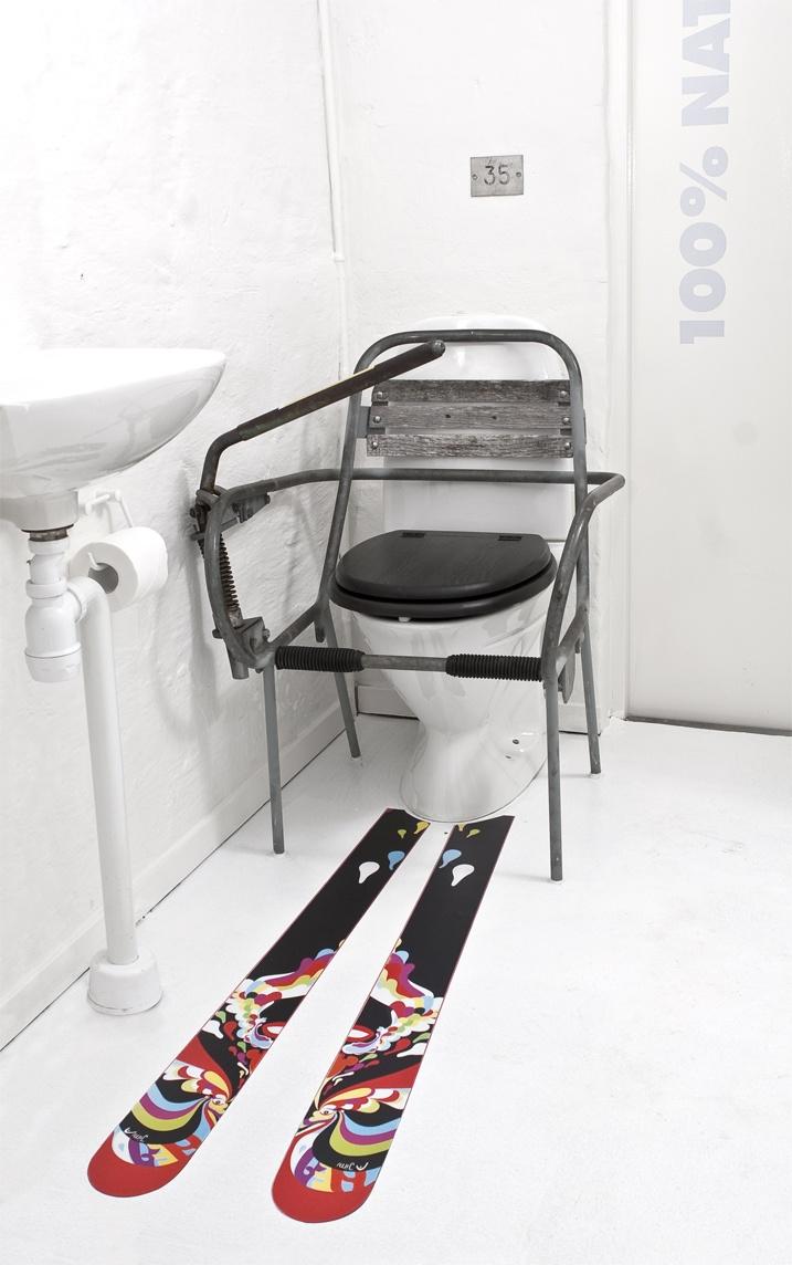 Borgafjäll - staff toilet