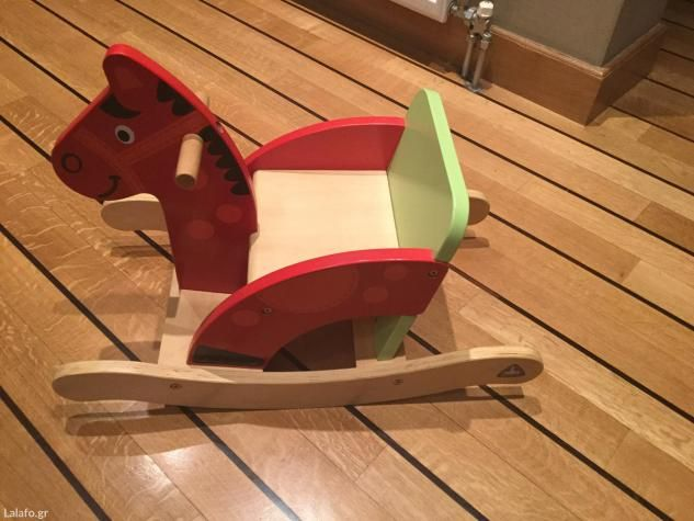 Παιχνίδια: Ξύλινο αλογάκι elc για παιδιά σε lalafo.gr