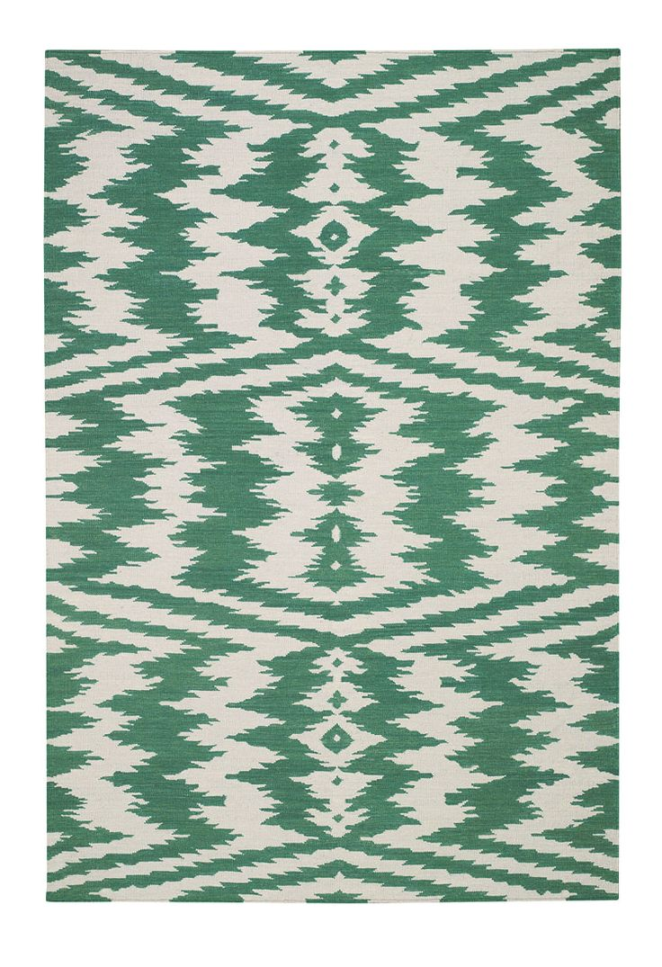 Uzbek Rug by Genevieve Gorder Home // saw this in person and it was the most magnificent emerald green!: Genevieve Gorder, Emeralds, Emerald Green, Emerald Rugs, Capelrugs Com, Area Rugs, Uzbek Rug, Capel Rugs