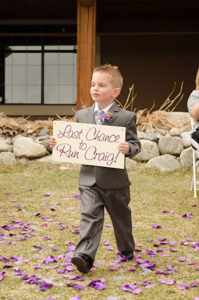 Uncle Sign -Last Chance to Run - Uncle -  Here comes the bride -  Wedding Sign, Flower Girl Sign, Ring Bearer, Aisle sign