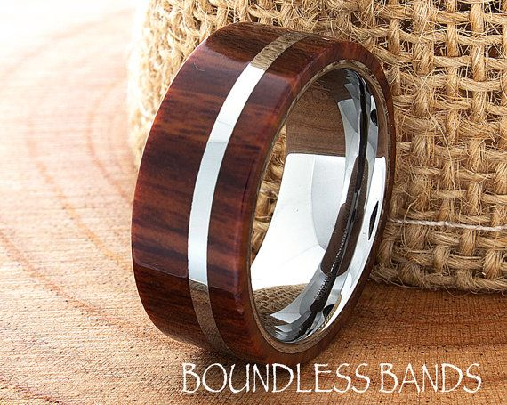 Hey, I found this really awesome Etsy listing at https://www.etsy.com/listing/227119492/hawaiian-koa-wood-wedding-band-flat-high