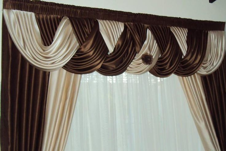 136 best images about cortinas on pinterest window - Cenefas para pared ...