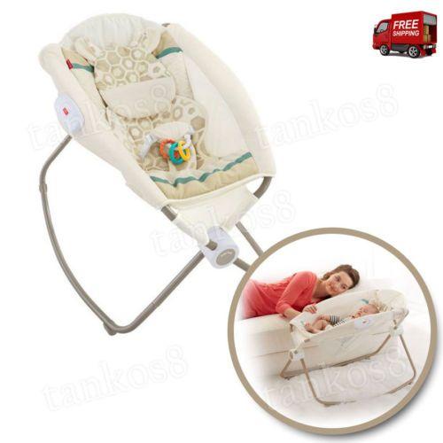 Portable-Sleeper-Newborn-Softness-Rest-Soft-Rock-039-N-Play-Baby-Comfort-Child-New