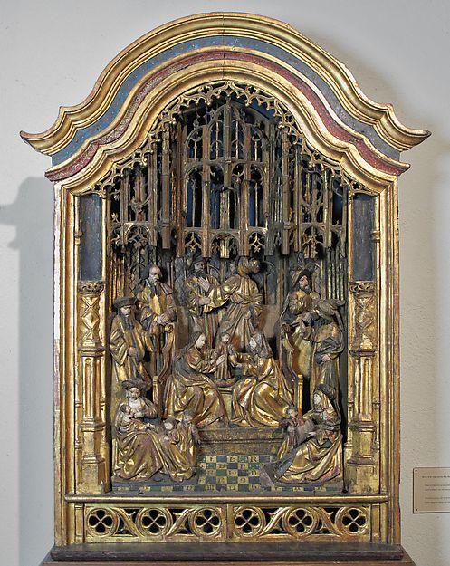 Santuario de Santa Ana y el parentesco santo   Sur flamenca   el Met