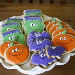 halloween sugar cookies decorated ideas halloween sugar cookies with royal icing