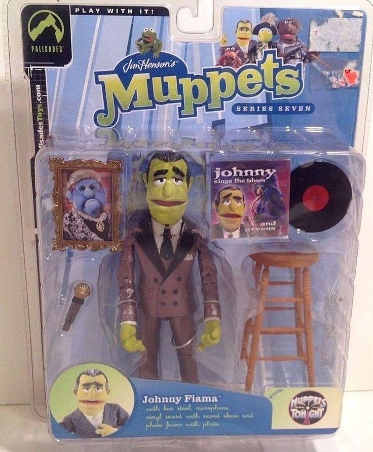 Muppets JOHNNY FIAMA Variant Palisades Series 7 Jim Hensons Brown Suit Figure #Palisades