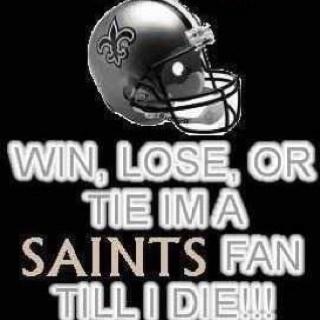 Geaux Saints!  WHO DAT!