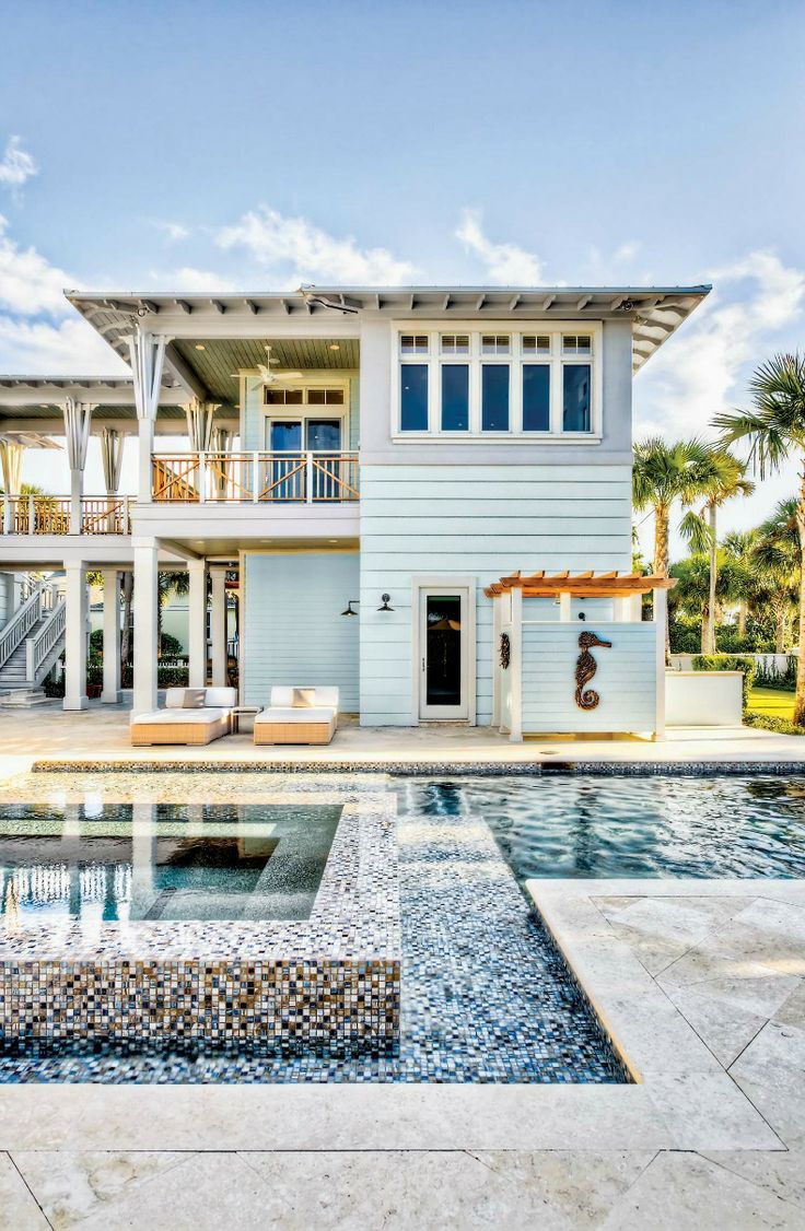 119 best beach house design ideas images on pinterest ponte vedra beach home designed by michelle balfoort love this stilt style of home kind of reminds me of some of the homes years ago on anna maria island