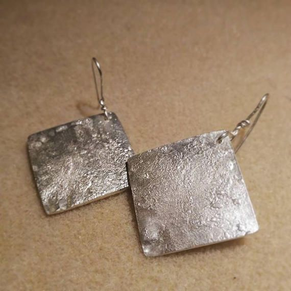 Check out this item in my Etsy shop https://www.etsy.com/listing/521535121/gift-for-her-silver-earrings-square