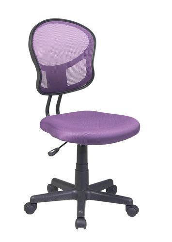 Mesh Purple Desk Chair