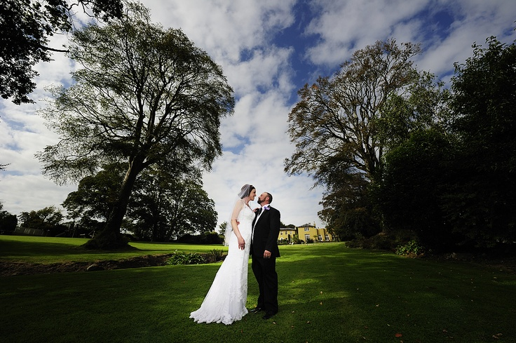 A photo from LaVerene and Brandon's wedding in Ballinacurra House 2011.