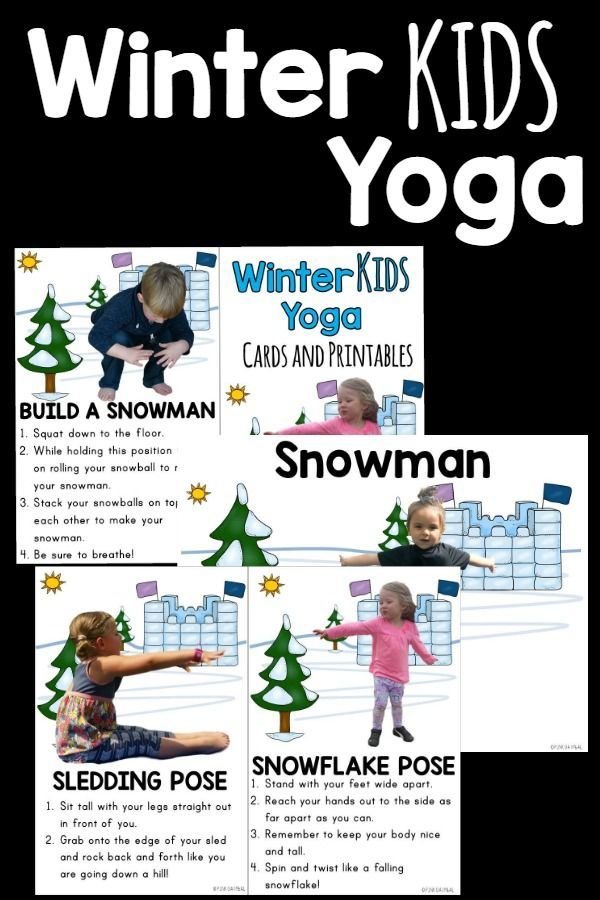 Incorporate yoga into your classroom, therapy or at home this winter.