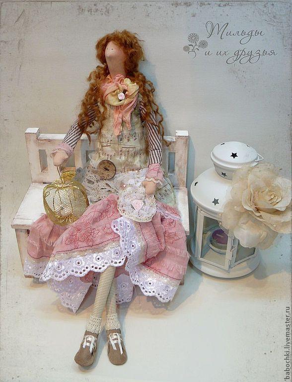 Купить Тильда Алиса (стиль Шебби Шик) - тильда, кукла Тильда, тильды, куклы тильды ♡