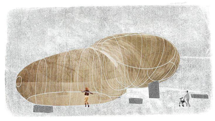 Oris • Serpentine Pavillion: Romantic follie by Smiljan Radic
