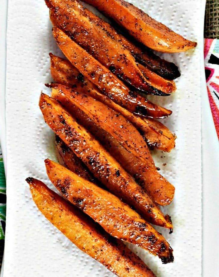 Ina Gartens Baked Sweet Potato Fries Recipe Barefoot Contessa