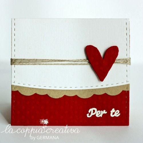 """… trova un tesoro….. niente di più vero!!! Così, per ricordare alle mie amiche che sono i miei """"tesori"""", ho pensato ad un regalino per loro….. Queste sono le decorazioni del sacchettino che conterrà il regalo! Visto che ci avviciniamo a San Valentino, possono essere utilizzate anche come piccole card….. Per realizzarle, ho tagliato del …"""