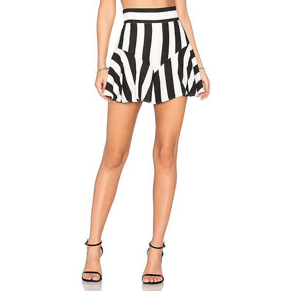 MILLY Flutter Culotte Shorts ($285) ❤ liked on Polyvore featuring shorts, frilly shorts, culottes shorts, milly shorts, ruffle trim shorts and flounce shorts