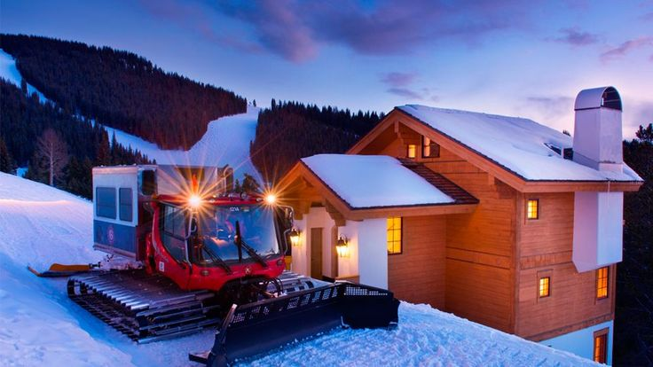 Sitting at 10,500 feet atop Vail Mountain, Game Creek Chalet provides the following:  - Peace - Seclusion - Luxury - *Decent Mountain Views - An Outdoor Hot Tub - First Tracks on Ski Runs - A Private Chef - A Snowcat to Get You There - Jealous Friends  *by decent we mean, 'freakin incredible'  #Goals  📸 The Arrabelle at Vail Square