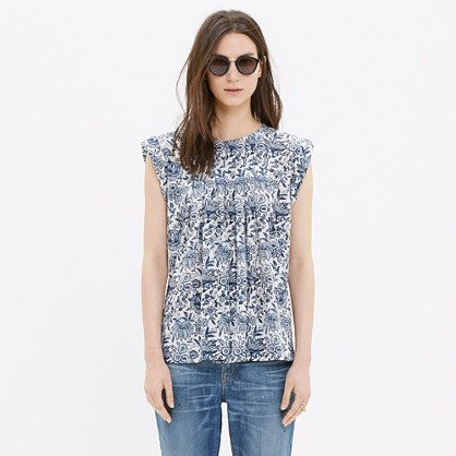 Sleeveless Top - Stargazer by VIDA VIDA Clearance Buy Browse For Sale Order Online WT7AQz