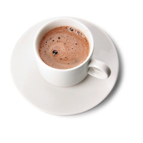 Горячий кофе с шоколадом и бренди