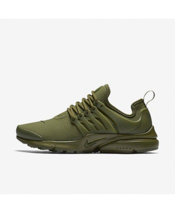 buy online 72af7 70df0 Nike Air Presto Premium Womens Legion Green Black Legion ...