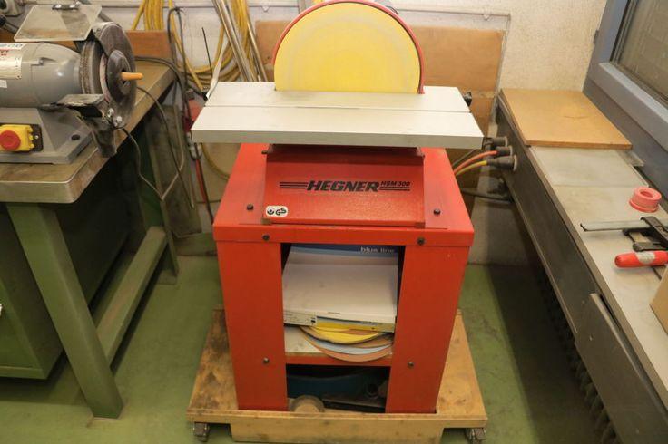 HEGNER HSM 300 Vertikale Tellerschleifmaschine: Gebraucht kaufen