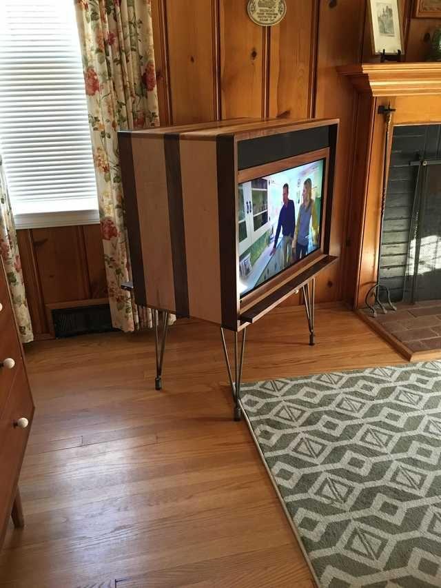 Retro Tv Set Build Imgur Retro Living Rooms Living Room Tv Living Room Decor Colors