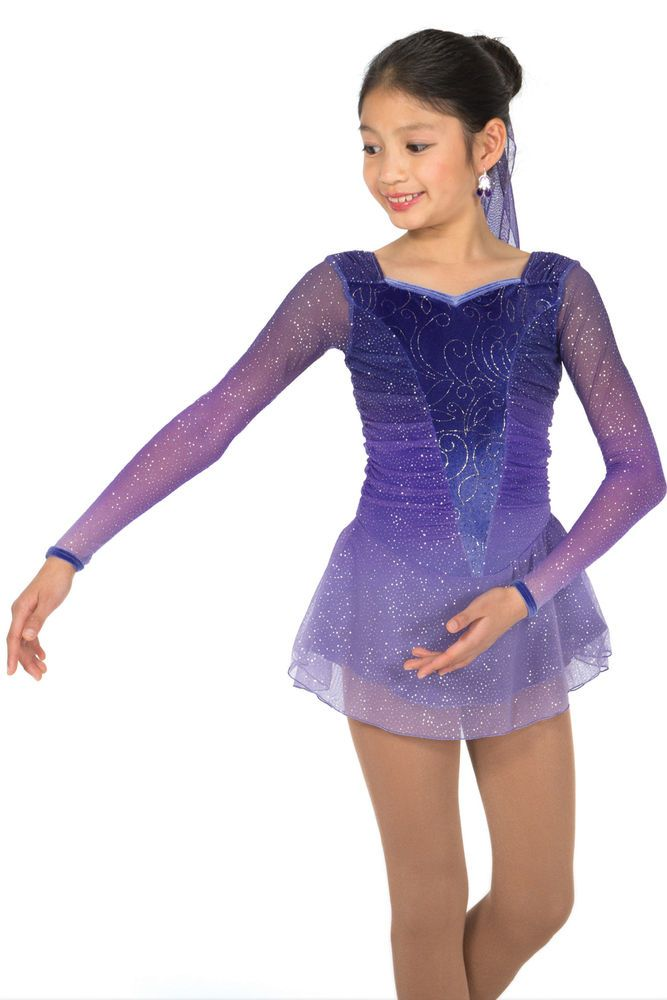 COMPETITION SKATING DRESS 586 SUGAR PLUM JERRY MADE ORDER 3 WEEKS FABRICATION