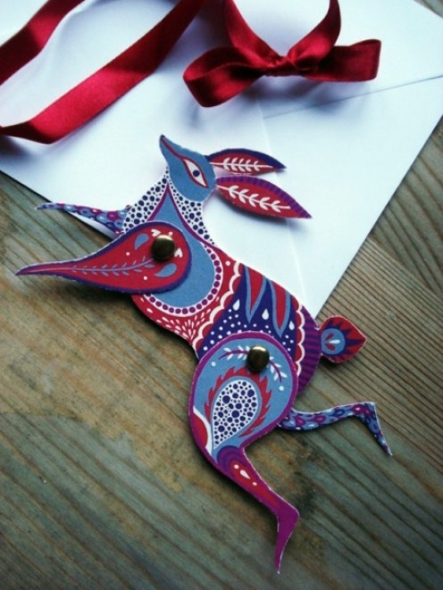 beautiful paper rabbit: Paper Plane, Crafts Ideas, Crafts Cards, Paper Animal, Art Ideas, Articulation Paper, Paper Rabbit, Cards Templates, Animal Cards