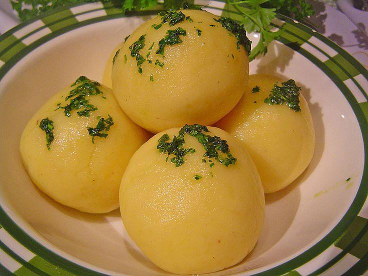 Gekochte Kartoffelknödel Spessarter Art von sweet-maja