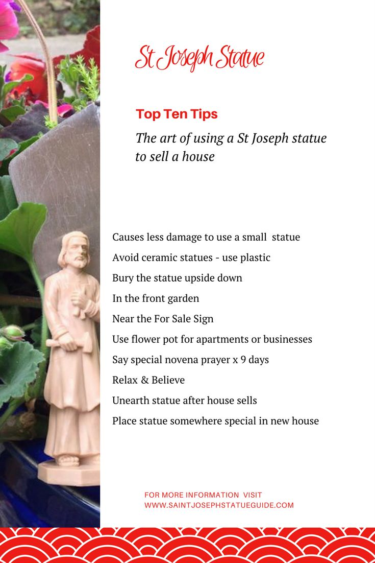 51 best st joseph statue to sell your house images on pinterest