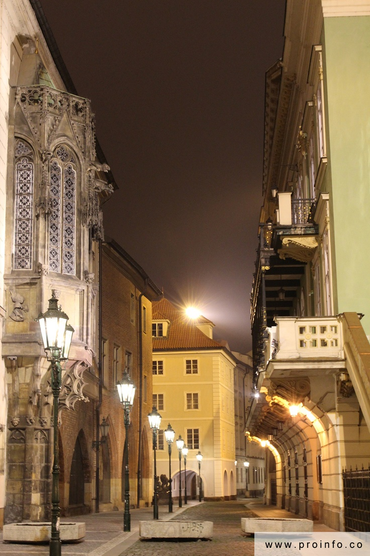 Great tenement hauses @ Prague's Old Town #prague #bynight #places