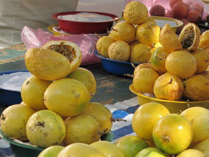 Passionfruit at a street market in Sao Paulo | Guide to Street Food in Brazil | @Jenna of This Is My Happiness travel blog