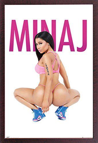Nicki Minaj - Squat - Hip Hop Rap Musik Poster - Größe 61x91,5 cm