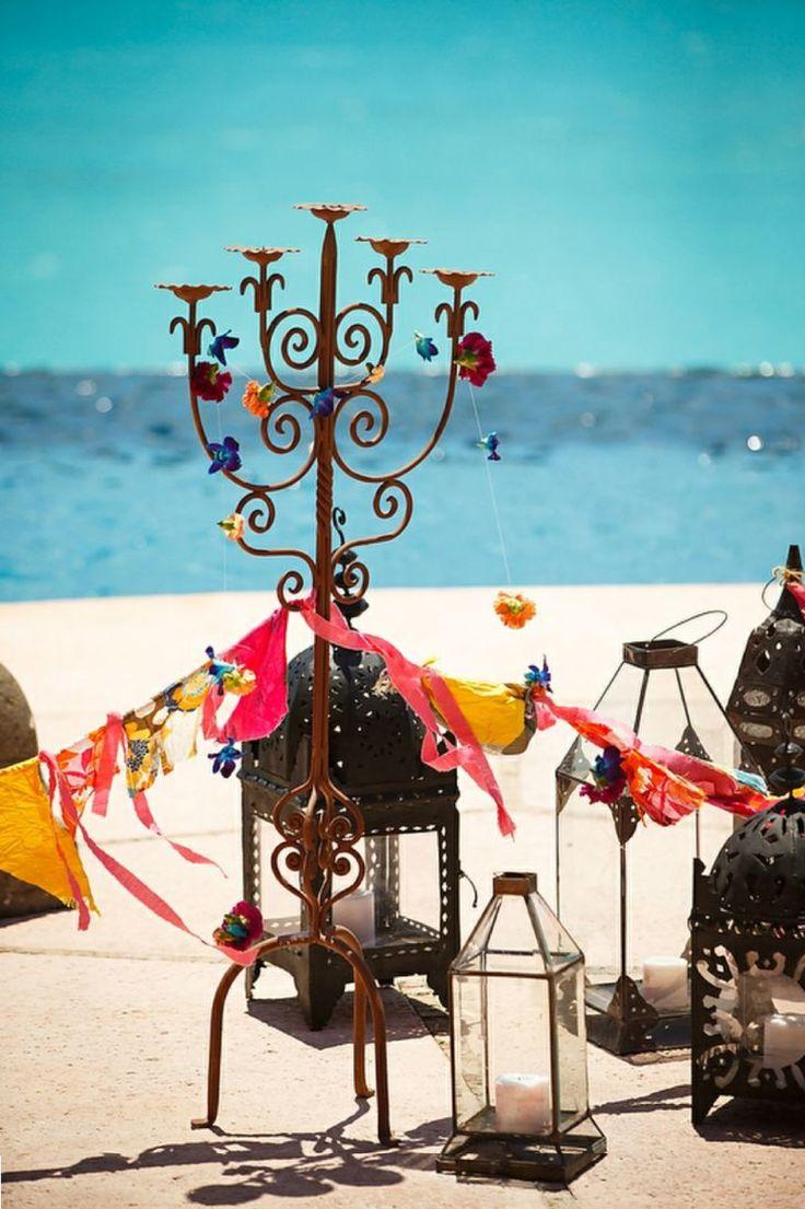 Пляжная вечеринка в ориентальном стиле