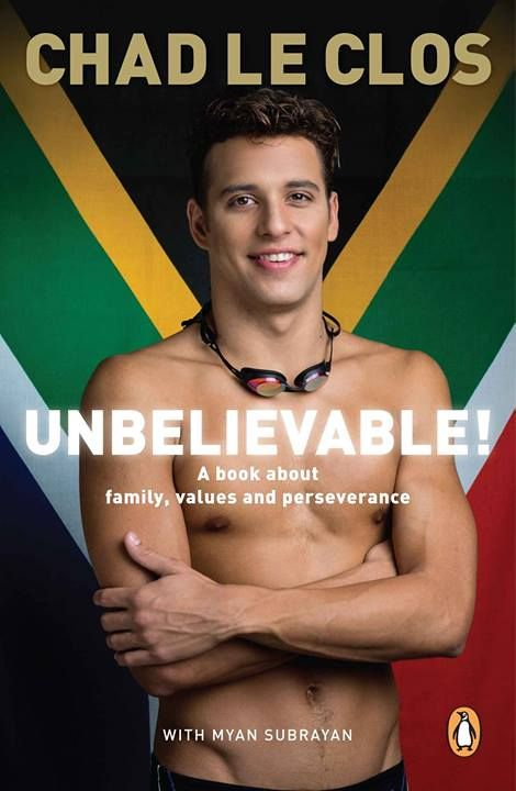 ... its Olympic Gold Medalist Swimmers - Chad le Clos