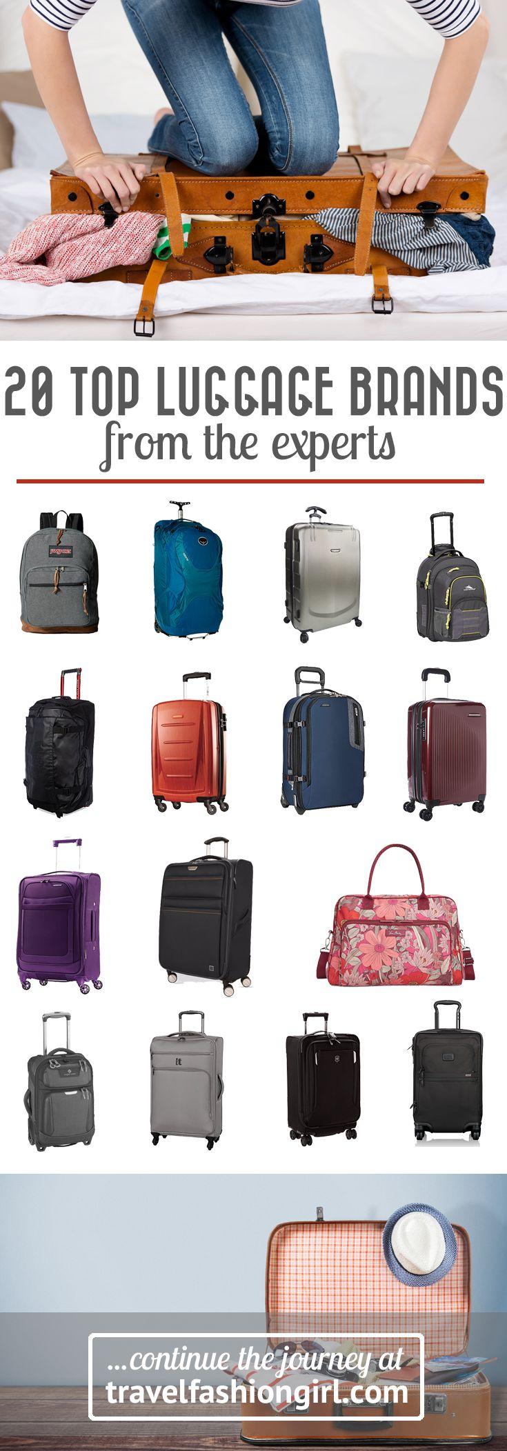 1000  idées à propos de Luggage Brands sur Pinterest | Conseils ...