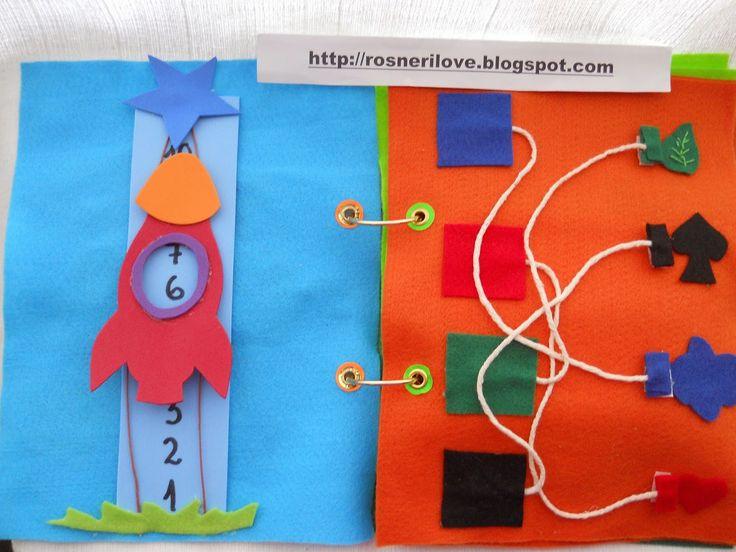 blog da neri: MARAVILHOSO LIVRO DE FELTRO PARA EDUCAÇÃO INFANTIL ( CAPA DE URSINHO ):