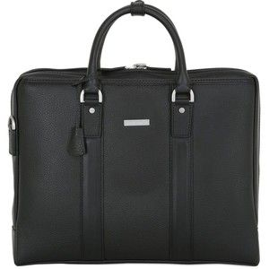 Brooks Brothers Men Leather Briefcase