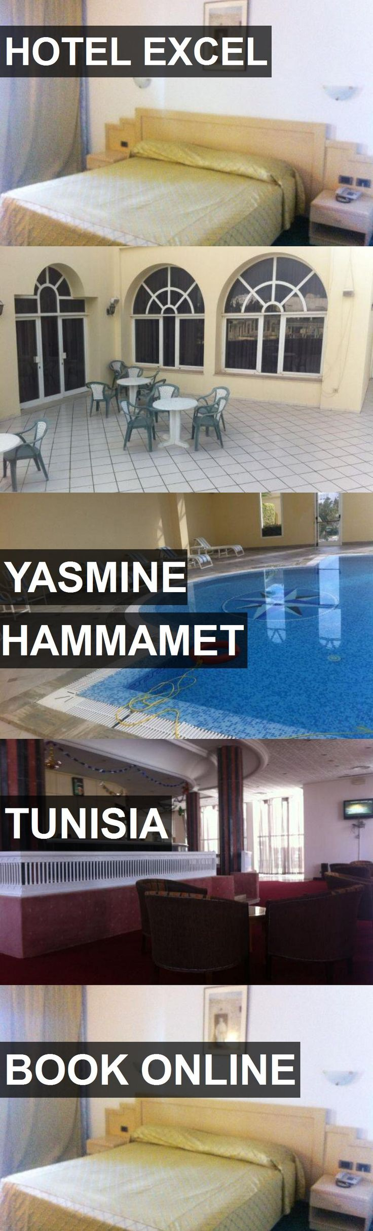 HOTEL EXCEL in Yasmine Hammamet, Tunisia. For more information, photos, reviews and best prices please follow the link. #Tunisia #YasmineHammamet #travel #vacation #hotel