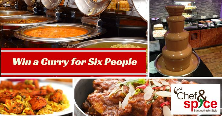 In our free to enter prize draw for October, you could win a delicious curry for six people at Chef and Spice - The Leicester Mercury Reader's Choice Restaurant of the Year! Click now to enter for free.