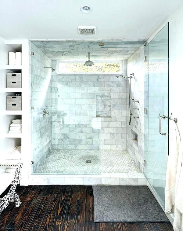 Master Bathroom Double Shower Ideas Master Bathroom Double Shower Ideas Small Master Bathroom Ideas Bathroom Remodel Master Window In Shower Master Bath Shower