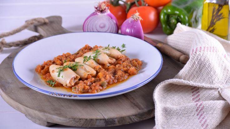 Receta | Chipirones con tomate - canalcocina.es
