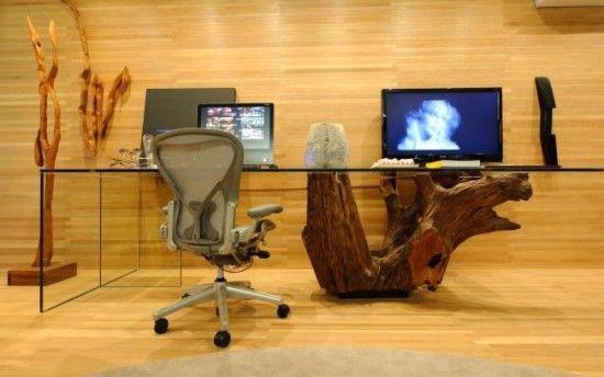 Decoração escritório rústico – exemplos e imagens