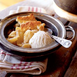 Cast Iron Apple Cobbler from Cooking Light | Recipes by Amy Tobin