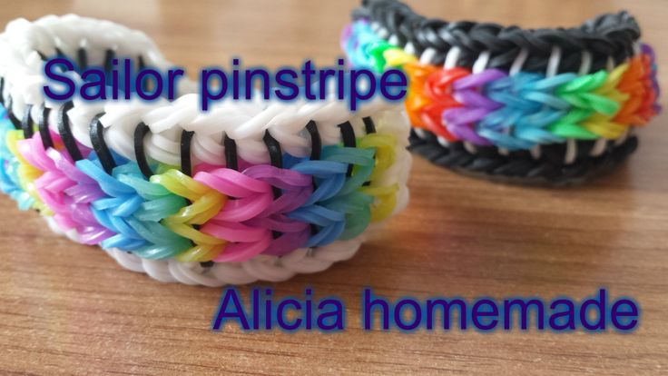 CEA MAI COOL BRATARA DIN GUMITE LOOM BY ALICIA HOMEMADE